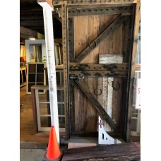 Reclaimed hardwood rustic barn stable door. $1800